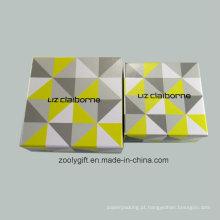 Personalizado de impressão de papel de impressão de papelão caixa de presente