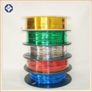 Shiny Colorful Plastic Twist Tie For Bread Bags