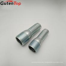 GutenTop instalación de tuberías al por mayor BSP doble rosca macho rosca Tubo de conexión doble tubería Kc niple