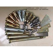 Fabricantes de peças de molde de alumínio Wholesale Building Pin