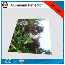 mirrored laminated sheet aluminum reflector