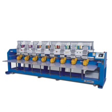 Multi head computerized embroidery machine similar to tajima embroidery machine