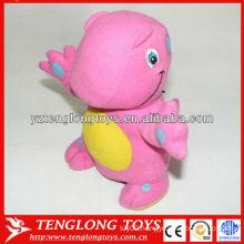 Manufacturer wholesale pink dragon plush saving pot