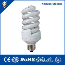CE UL 15W - 26W espiral ahorro de energía enciende 110-240V