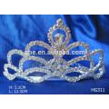 Corona de la tiara del día de fiesta de la tiara de la corona de la corona de la boda de las coronas