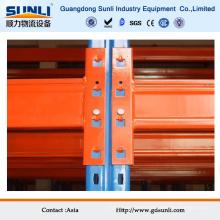 Accesorios de rack de acero inoxidable naranja