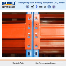 Acessórios de rack de aço inoxidável laranja