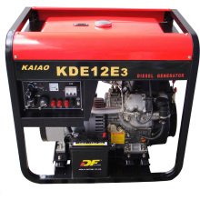 9kw Diesel Genset Air Cooled Kaiao Red Color Best Price KDE12E3