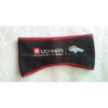 Wristband / bandeau sport promotionnel pour hiver en molleton polaire