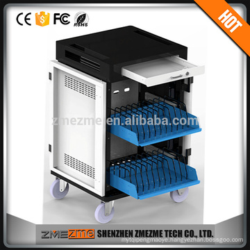 2016 Mobile Charger & Batteries Cabinet / Smartphone Storage And Charging Cart / Storage Enclosure For Tablets