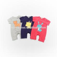Peleles de bebé de moda infantil de algodón orgánico ropa de bebé mono al por mayor adulto bebé onesie