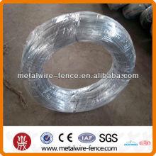 Alambre de acero galvanizado de alto carbono y bajo carbono