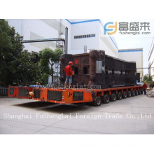 Self propelled modular trailer