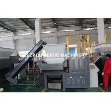Machine en plastique automatique de défibreur d'axe simple