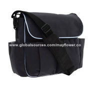 Diaper Bag with Easy and Comfortable Carry Handle, Measures 15 x 4 x 11-inch, OEM Orders Welcomed