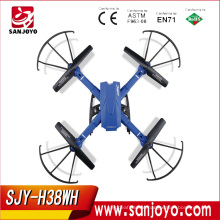 New JJRC H38WH Modular Drone With 2mp Wifi wide angle 120 degree Camera Selfie Drone Wifi Fpv Quadcopter Set height SJY-H38WH
