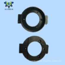 Pieza de aluminio torneado cnc anodizado negro de alta precisión