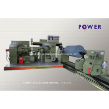 Máquina de cobertura de rolo de borracha para transmissão de minas