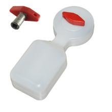 Kühlerventilschlüssel mit Wassertank