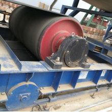Conveyor Belt Steel Ceramic Non-Drive/Head/Bend/Take up/Snub/Tail Rubber Lagging Drum Pulley  for Belt Width 800 mm