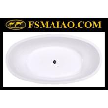 Овальная форма Высокое качество Встроенная ванна (BA-8802)