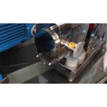 Bomba de rotor lobulada de la industria alimentaria de acero inoxidable 3RP