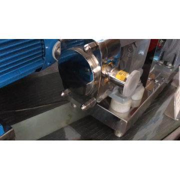 3RP aço inoxidável indústria alimentar bomba de rotor lobado