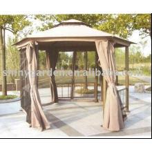 TOIT DE TISSU en aluminium Tente de jardin de luxe Gazebo outoddr