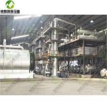 Température et utilisations de la distillation fractionnée du pétrole brut