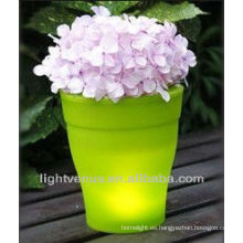 LED flor olla alta tecnología producto
