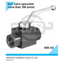 """Válvula de bola hidráulica de alta presión A105 1/4 """"Pn200"""