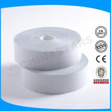 100 lavage de haute qualité en argent TC ruban réfléchissant pour chemise de travail de sécurité
