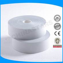 100 wash high quality silver TC reflective tape for safety work shirt