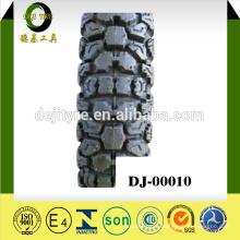 Китайская фабрика Цена дешевых мотоциклов 6PR/8PR бескамерной шины шины