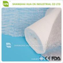 Fabriqué en Chine Vente chaude 100% coton rouleau de gaze médicale