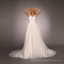 Hot sale custom Cap Sleeve guangzhou wedding dress factory