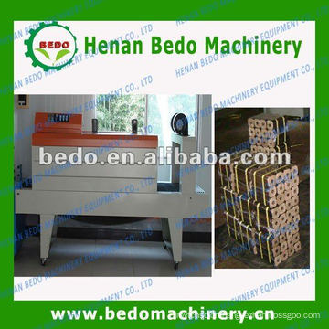 hot selling PE film heat shrink packing machine for charcoal rods or wood briquettes