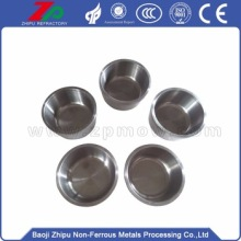 Niobium crucible for hot metal cermets