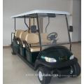 Electric Fuel Type and 6 front seat and 2 rear persons Seats 8 seater golf cart for sale