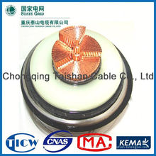 Professional Top Quality hv copper conductor xlpe insulation power cable