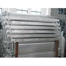 Planches d'échafaudage en acier galvanisé en sécurité Style solide