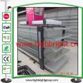 Cremalheira resistente habilitada do armazenamento do armazém com prateleira do fio