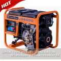 AC single phase 220v portable diesel electric generator 5kw