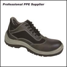Fabricación de alta calidad del zapato de seguridad de la inyección de la PU