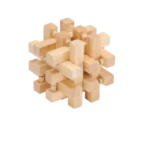 Wooden Game Wooden Lock Toys (CB1118)