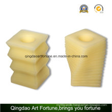 Handmade Flameless LED Wax Candle for Household Decoration