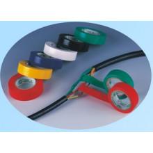 Cinta adhesiva aislante eléctrica de PVC