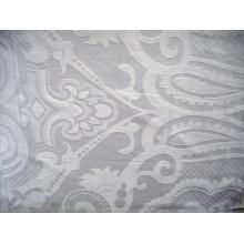 Tela de la raya del algodón para el hotel y la materia textil casera con buena calidad
