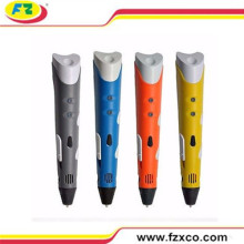 2016 Popular Kids 3D Stereoscopic Drawing Pen 3D Digital Pen