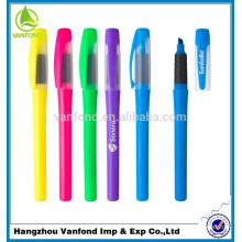 non-toxic ink multi colored highlighter pen